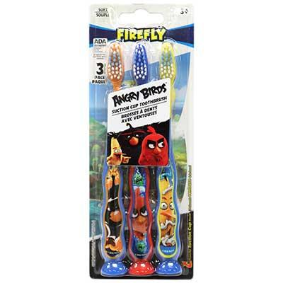 Firefly – Angry Birds 3 Pack Suction Cup