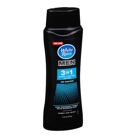 White Rain – Men 3 in 1 Cool Ocean Wave 443ml