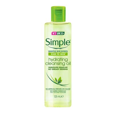 Simple – Hydrating cleansing oil 125ml