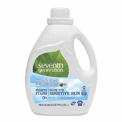 Seventh Generation – Detergente natural Free & Clear 2.95L
