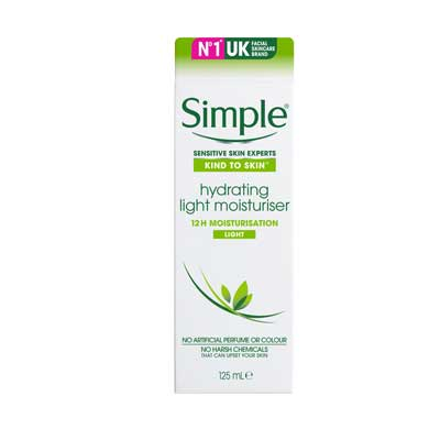 Simple – Hydrating Light Moisturiser 125ml