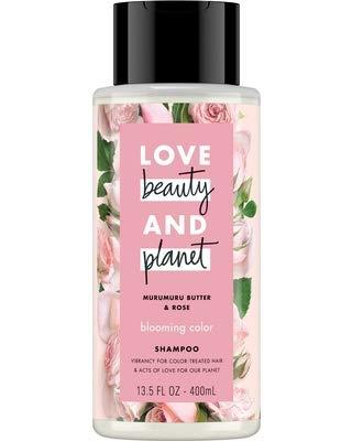 Love Beauty And Planet – LBOP Shampoo for Unisex, Murumuru Butter and Rose