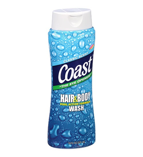 Coast – Hair & Body Wash Classic Scent 532ml