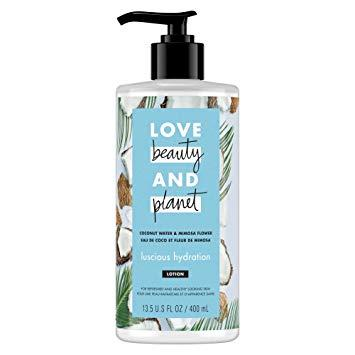 Love Beauty And Planet – LBOP Coconut Water & Mimosa Flower Body Lotion , Luscious Hydration