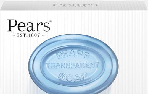 Pears – Pure & Gentle Soap Mint Extracts 125g