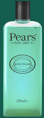 Pears – Body Wash Lemon Flower Extracts 250ml