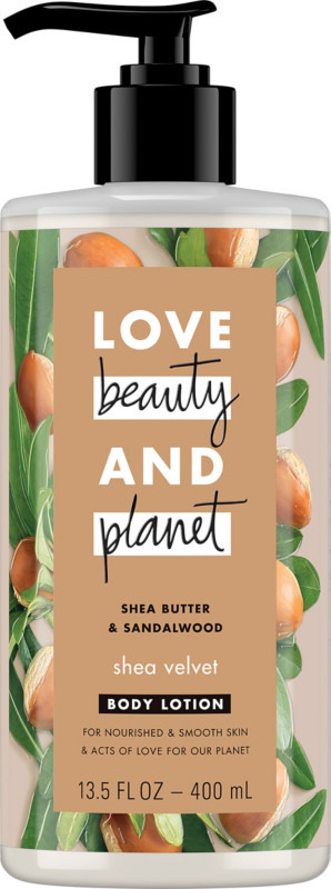 Love Beauty And Planet – LBOP Shea Butter & Sandalwood Body Lotion