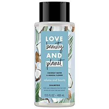 Love Beauty And Planet – LBOP Shampoo for Unisex, Coconut Water and Mimosa Flower