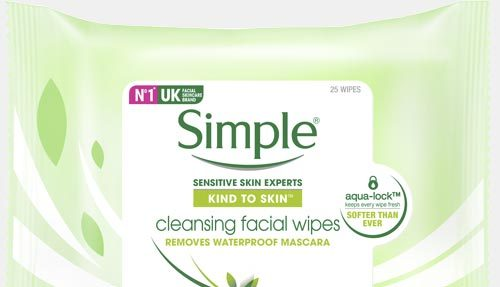 Simple – Cleansing Facial Wipes 25 wipes